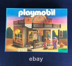 Playmobil 3787 Golden Nugget Saloon mint in unopened sealed box MISB 1990s