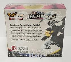 Pokemon Sun and Moon Team Up Booster Box factory Sealed unopened Charizard