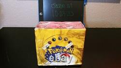 Pokemon base set booster box unlimited spanish sealed unopened WOTC