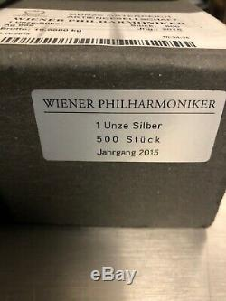 Sealed Monster Box Of 500.999 Austria Philharmonic Coins Untouched Unopened