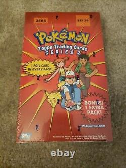 Sealed Vintage Pokemon Topps Series 2 Booster Box Unopened Rare Great Condition