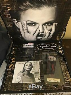Taylor Swift Reputation Tour VIP Collector Box Unopened and Sealed