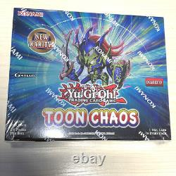 YuGiOh Toon Chaos, Booster Box, Factory Sealed, Unopened, English, Unlimited